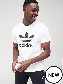 adidas-originals-trefoil-t-shirt-whiteblack