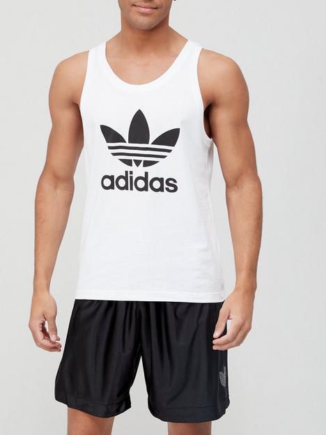 adidas-originals-trefoil-tank-top-whiteblack
