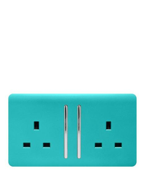 trendiswitch-2g-13a-switched-socket-bright-teal