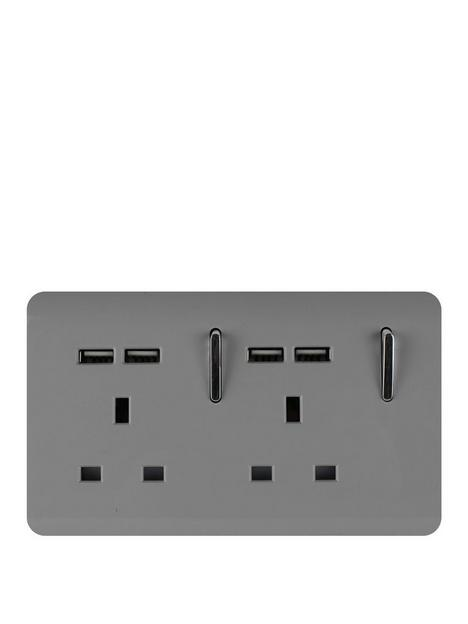trendiswitch-2g-13a-skt-4x21mah-usb-light-grey