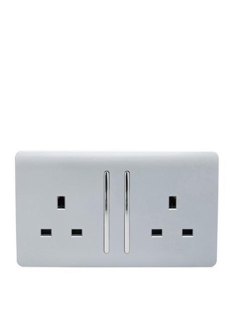 trendiswitch-2-gang-13amp-switched-2g-socket-long-rocker-std-silver