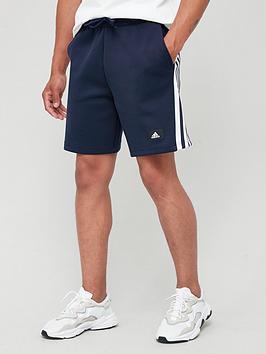 adidas-future-icon-3-stripe-shorts-navy
