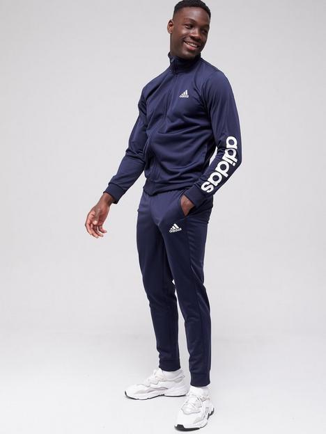 adidas-linear-sleeve-tracksuit-navy