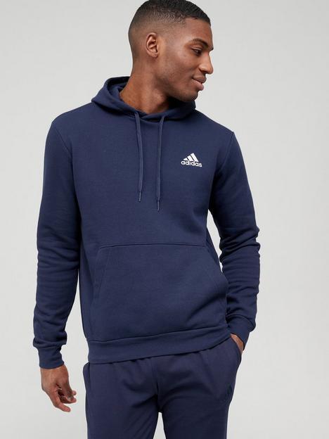 adidas-feel-cozynbsppullover-hoodie-navywhite