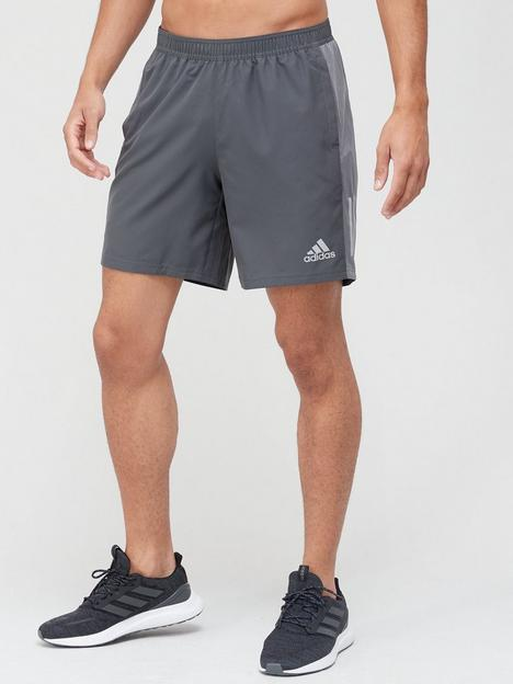 adidas-own-the-run-shorts-grey