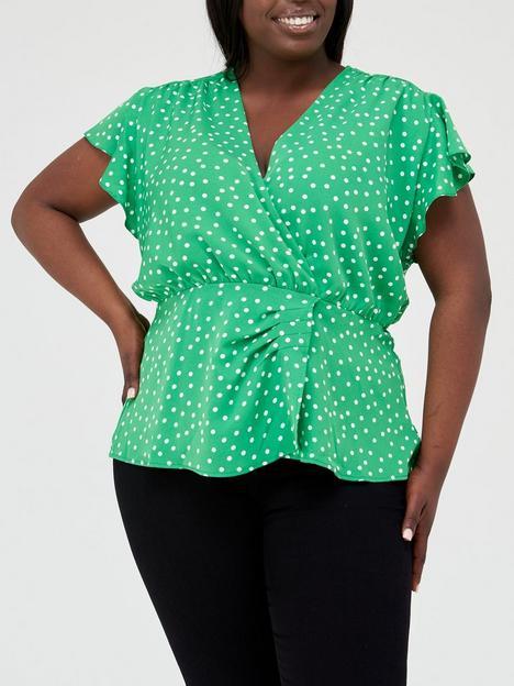 ax-paris-curve-wrap-top-green-spot