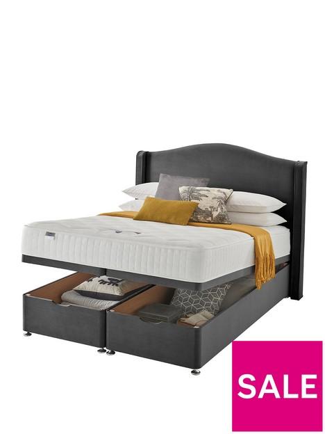 silentnight-osprey-memory-1000-pocket-velvet-ottoman-storage-bed-headboard-included