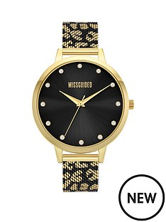 missguided-missguided-black-dial-leopard-mesh-printed-strap-watch