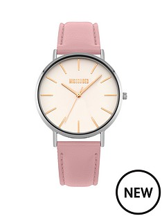 missguided-white-dial-pink-strap-watch