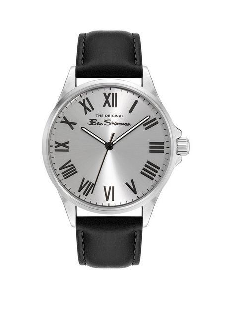 ben-sherman-ben-sherman-silver-dial-black-strap-watch