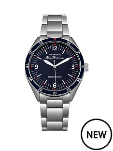 ben-sherman-ben-sherman-blue-dial-red-accents-stainless-steel-bracelet-watch