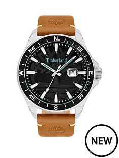 timberland-timberland-black-date-dial-tan-strap-watch