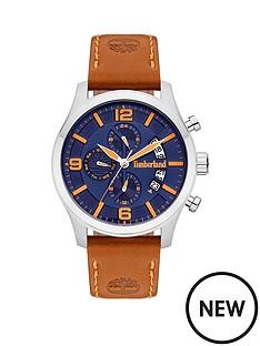 timberland-blue-dial-tan-strap-watch