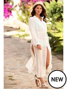 pour-moi-crinkle-maxi-beach-shirt-white