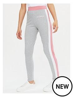 new-look-girlsnbspchicago-side-stripe-legging-pink
