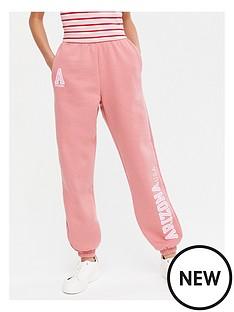 new-look-girlsnbspset-arizona-cuffed-jogger-pink