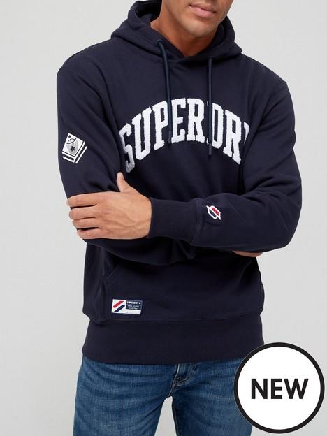 superdry-superdry-varsity-arch-mono-logo-overhead-hoodie