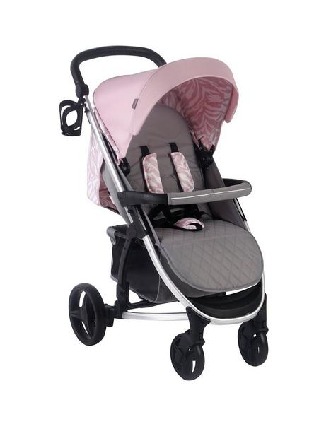 my-babiie-dani-dyer-pink-amp-grey-pushchair