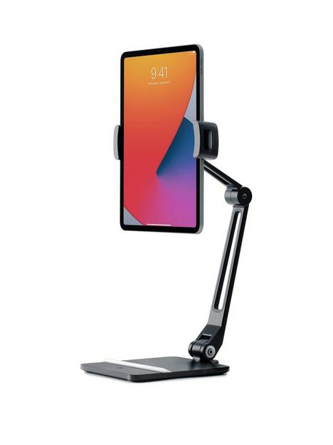 twelve-south-hoverbar-duo-for-ipad-tablets-adjustable-arm-with-weighted-base-and-surface-clamp-attachmens-for-mounting-tablets