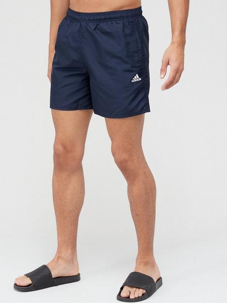 adidas-solid-swim-shorts-navy