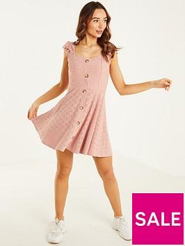 quiz-blush-broderie-anglaise-tea-dress