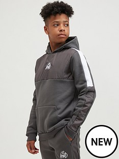 kings-will-dream-junior-nylow-hoodie-grey-marl