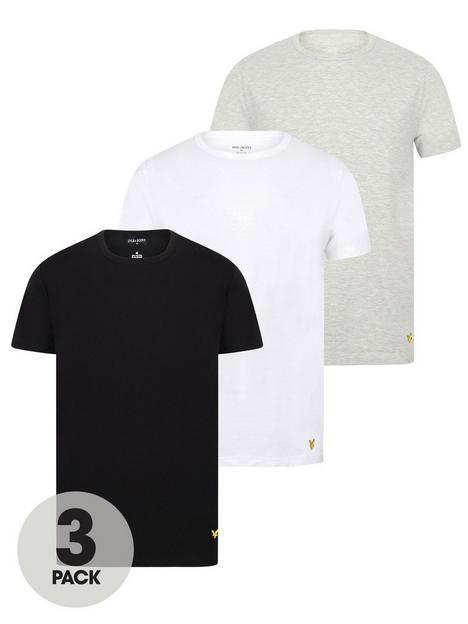 lyle-scott-maxwell-3-pack-t-shirt-whitegreyblack