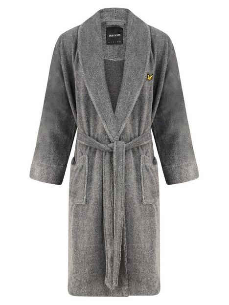 lyle-scott-lucas-bathrobe-grey-marl