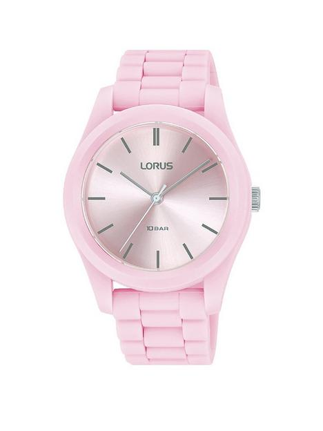 lorus-classic-pink-strap-watch