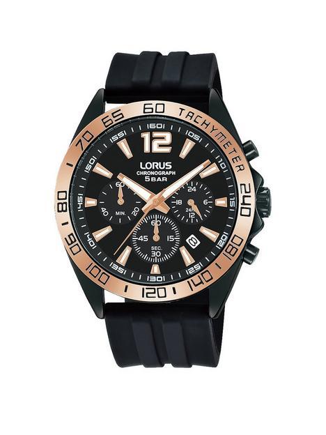 lorus-lorus-rose-gold-black-silicone-strap-chronograph-watch