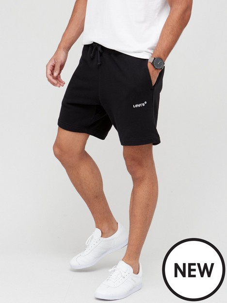 levis-red-tab-jersey-shorts-black