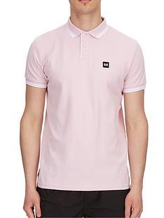 weekend-offender-weekend-offender-viviero-tipped-polo-shirt-light-pink