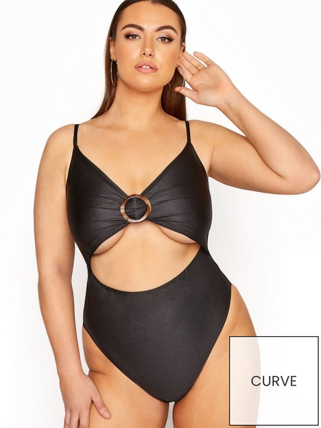 yours-yours-limited-ring-detail-swimsuit-black