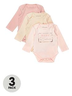 river-island-baby-baby-pink-bodysuits-3-pack