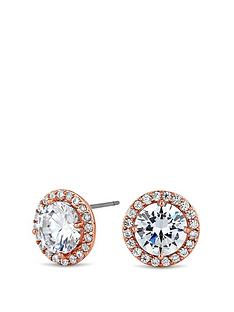 jon-richard-jon-richard-rose-gold-cz-halo-stud-earring