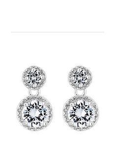 jon-richard-cubic-zirconia-drop-earrings