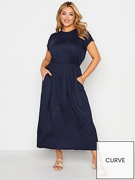 yours-london-navy-maxi-dress