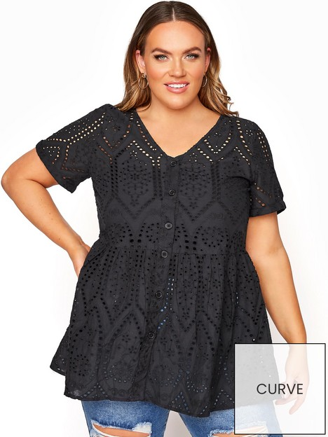 yours-yours-embroidered-lace-peplum-top-black