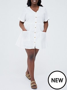 in-the-style-curve-in-the-style-curve-x-stacey-solomonnbsplinen-look-flare-button-through-smock-dress-white