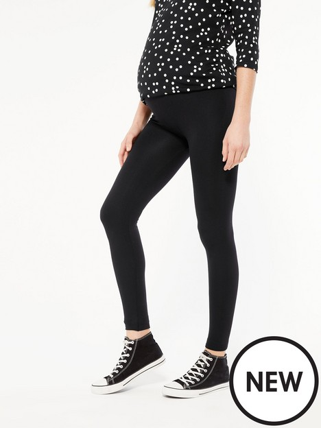 new-look-seam-free-maternity-legging-black