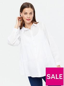 new-look-tiered-hem-button-through-shirt-whitenbsp