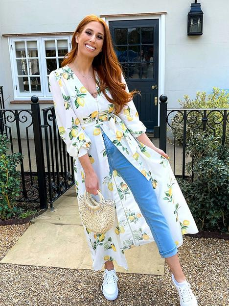 in-the-style-in-the-style-x-stacey-solomonnbsplongline-tunic-blouse-lemon-print