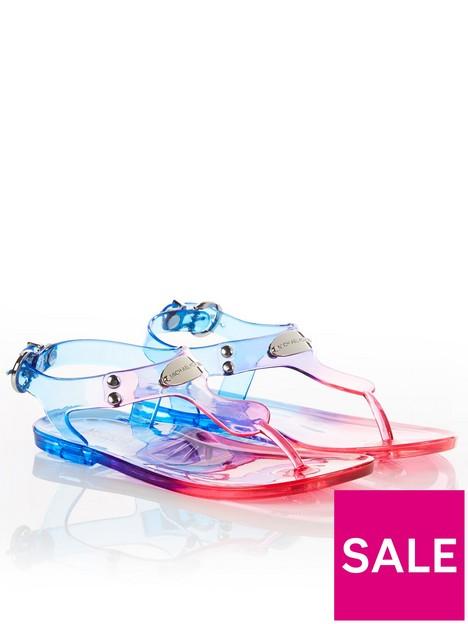 michael-kors-girls-jelly-sandals-sunset-ombre