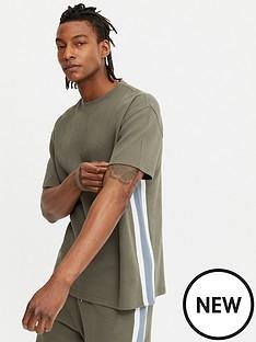 new-look-knit-waffle-t-shirt-mid-greennbsp