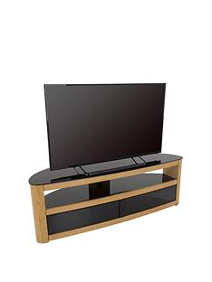 avf-burghley-affinity-curved-1500-tv-stand-oakblack-fits-up-to-70-inch-tv