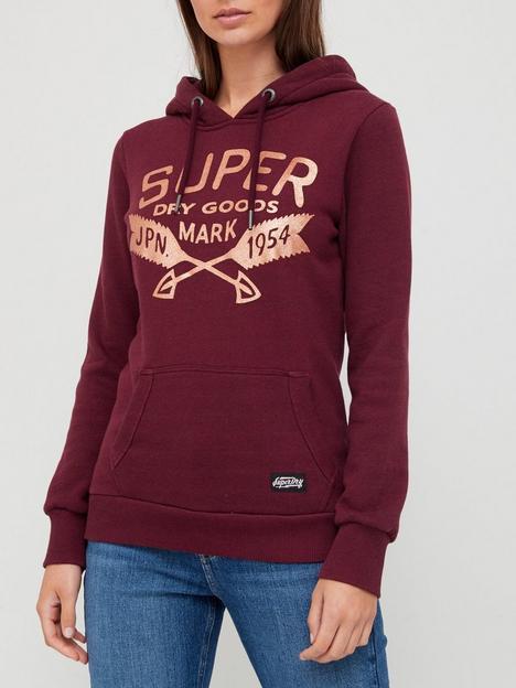 superdry-glitter-sparkle-hoodie--nbspburgundy