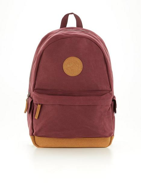 superdry-waxed-canvas-montana-backpack-burgundy