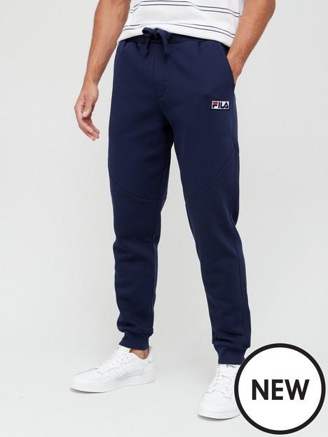 fila-utar-jogger-with-cut-lines-navy