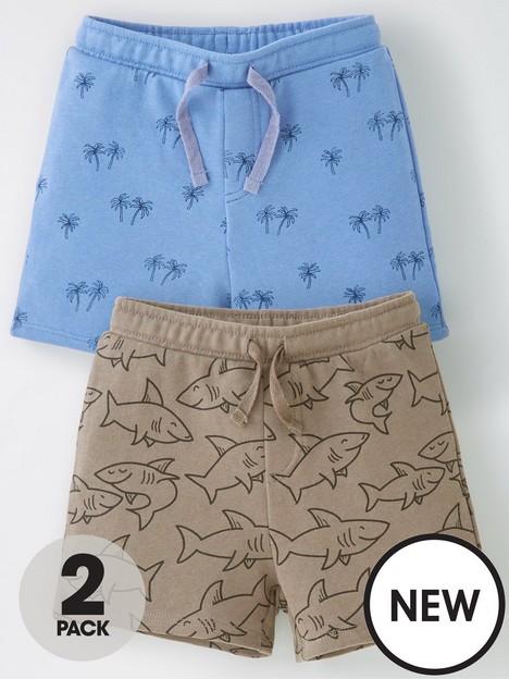 mango-baby-boys-2-pack-printed-shortsnbsp--multi