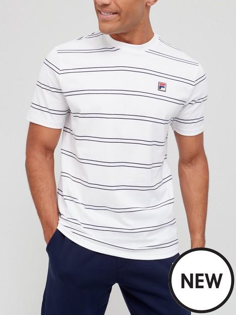 fila-felixor-yarn-dye-t-shirt-whitenavy